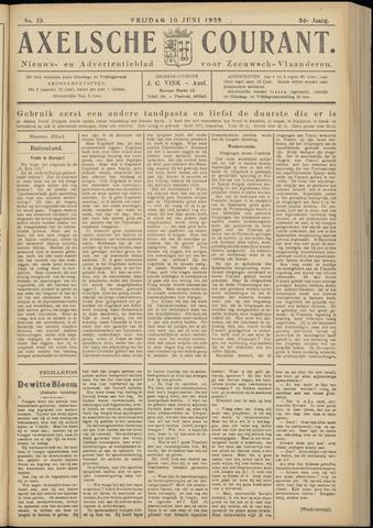 Axelsche Courant 1938-06-10