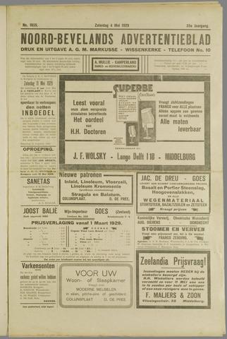 Noord-Bevelands Nieuws- en advertentieblad 1929-05-04