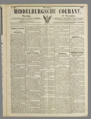 Middelburgsche Courant 1905-11-27