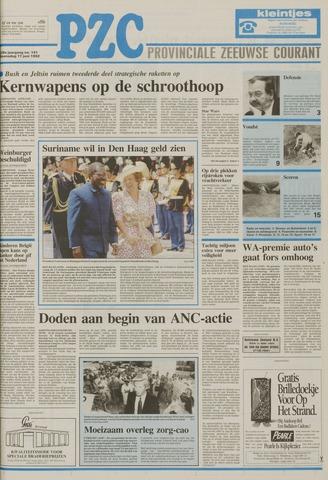 Provinciale Zeeuwse Courant 1992-06-17