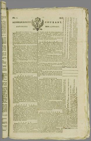 Middelburgsche Courant 1808