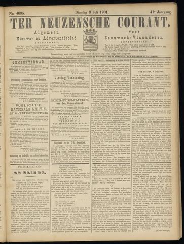 Ter Neuzensche Courant. Algemeen Nieuws- en Advertentieblad voor Zeeuwsch-Vlaanderen / Neuzensche Courant ... (idem) / (Algemeen) nieuws en advertentieblad voor Zeeuwsch-Vlaanderen 1901-07-09