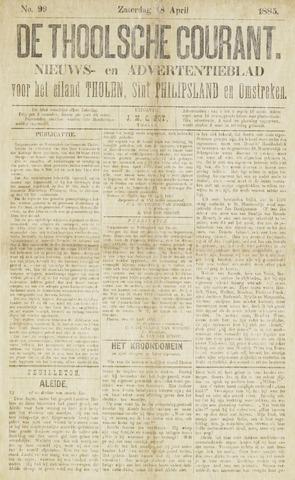 Ierseksche en Thoolsche Courant 1885-04-18