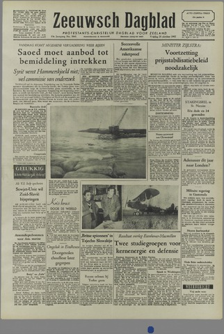 Zeeuwsch Dagblad 1957-10-25