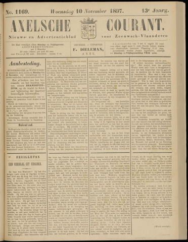 Axelsche Courant 1897-11-10