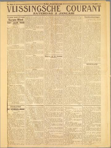 Vlissingse Courant 1926