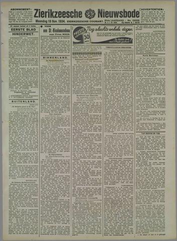 Zierikzeesche Nieuwsbode 1934-11-19