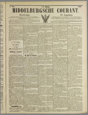 Middelburgsche Courant 1906-08-16