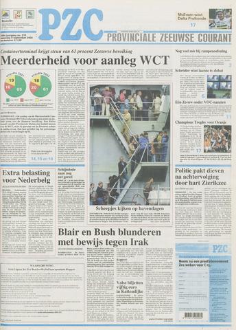 Provinciale Zeeuwse Courant 2002-09-09