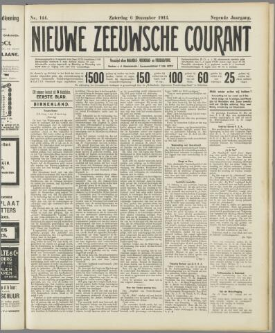 Nieuwe Zeeuwsche Courant 1913-12-06