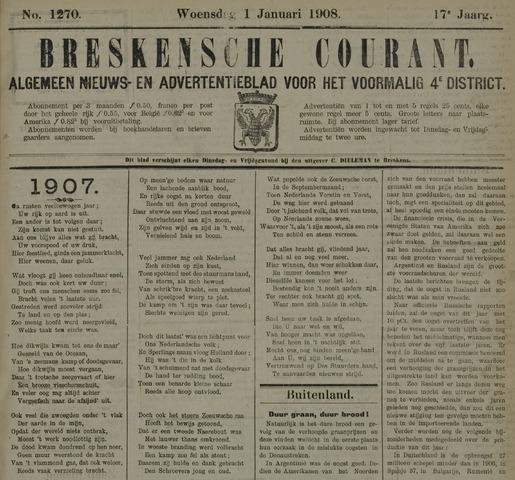 Breskensche Courant 1908