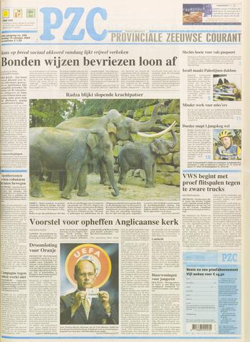 Provinciale Zeeuwse Courant 2003-10-14