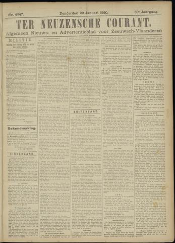 Ter Neuzensche Courant. Algemeen Nieuws- en Advertentieblad voor Zeeuwsch-Vlaanderen / Neuzensche Courant ... (idem) / (Algemeen) nieuws en advertentieblad voor Zeeuwsch-Vlaanderen 1920-01-29