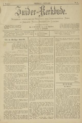 Zuider Kerkbode, Weekblad gewijd aan de belangen der gereformeerde kerken in Zeeland, Noord-Brabant en Limburg. 1897-01-08