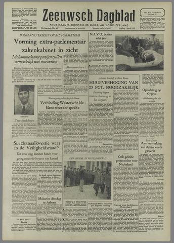 Zeeuwsch Dagblad 1957-04-05