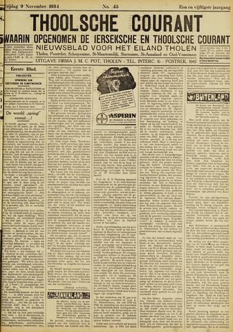 Ierseksche en Thoolsche Courant 1934-11-09