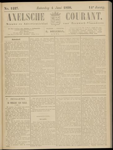 Axelsche Courant 1898-06-04