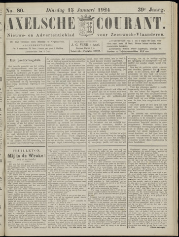 Axelsche Courant 1924-01-15