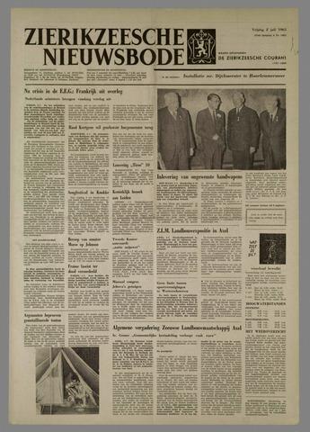 Zierikzeesche Nieuwsbode 1965-07-02