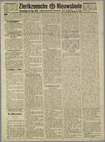 Zierikzeesche Nieuwsbode 1925-08-26