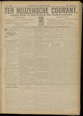 Ter Neuzensche Courant. Algemeen Nieuws- en Advertentieblad voor Zeeuwsch-Vlaanderen / Neuzensche Courant ... (idem) / (Algemeen) nieuws en advertentieblad voor Zeeuwsch-Vlaanderen 1916-08-17