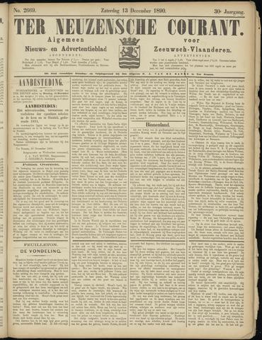Ter Neuzensche Courant. Algemeen Nieuws- en Advertentieblad voor Zeeuwsch-Vlaanderen / Neuzensche Courant ... (idem) / (Algemeen) nieuws en advertentieblad voor Zeeuwsch-Vlaanderen 1890-12-13