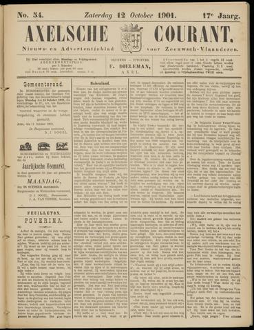 Axelsche Courant 1901-10-12