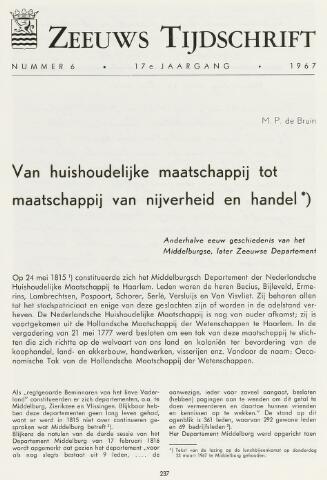 Zeeuws Tijdschrift 1967-11-01