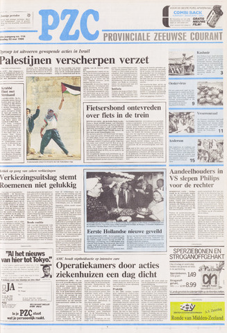 Provinciale Zeeuwse Courant 1990-05-22