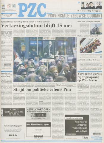 Provinciale Zeeuwse Courant 2002-05-08