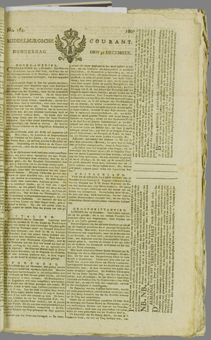 Middelburgsche Courant 1807-12-31