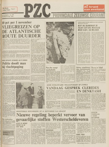 Provinciale Zeeuwse Courant 1974-08-26