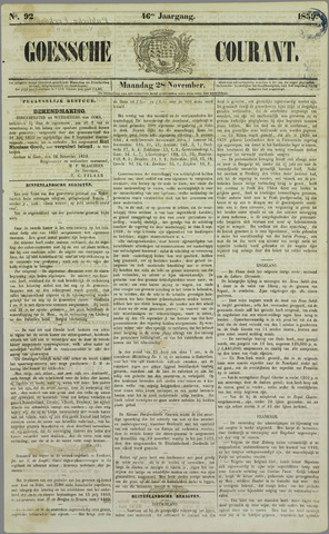 Goessche Courant 1859-11-28