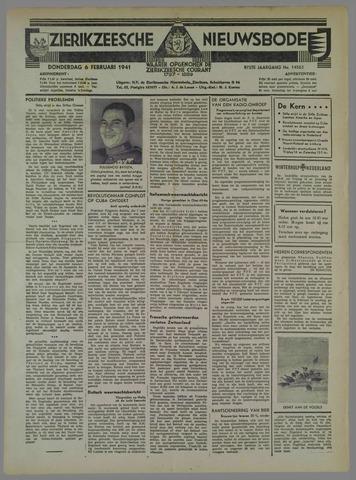 Zierikzeesche Nieuwsbode 1941-02-06