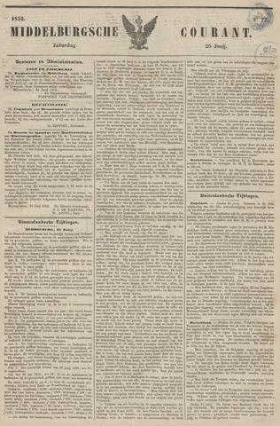 Middelburgsche Courant 1852-06-26