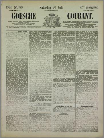 Goessche Courant 1884-07-26