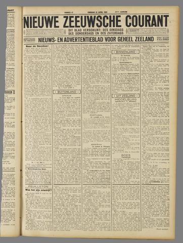 Nieuwe Zeeuwsche Courant 1931-04-21