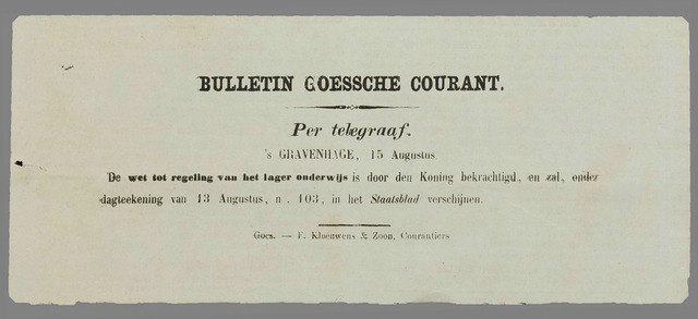 Goessche Courant 1857-08-15