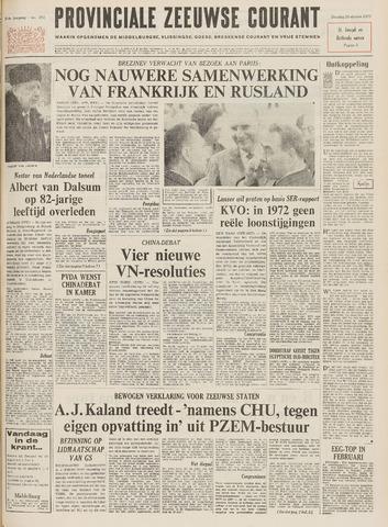 Provinciale Zeeuwse Courant 1971-10-26