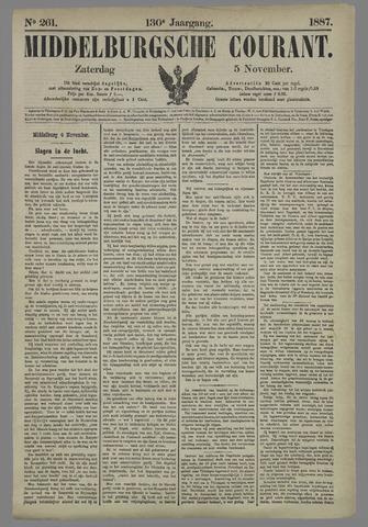 Middelburgsche Courant 1887-11-05