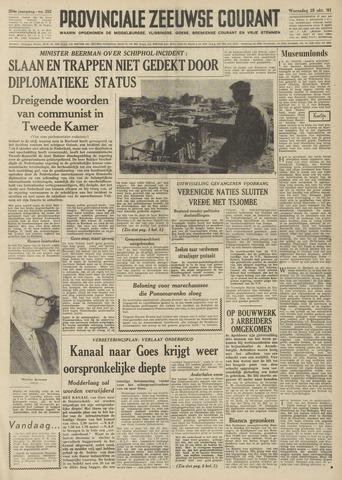 Provinciale Zeeuwse Courant 1961-10-25