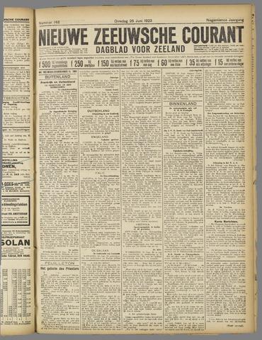 Nieuwe Zeeuwsche Courant 1923-06-26