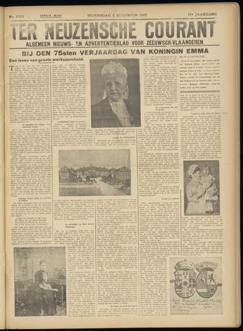 Ter Neuzensche Courant. Algemeen Nieuws- en Advertentieblad voor Zeeuwsch-Vlaanderen / Neuzensche Courant ... (idem) / (Algemeen) nieuws en advertentieblad voor Zeeuwsch-Vlaanderen 1933-08-02