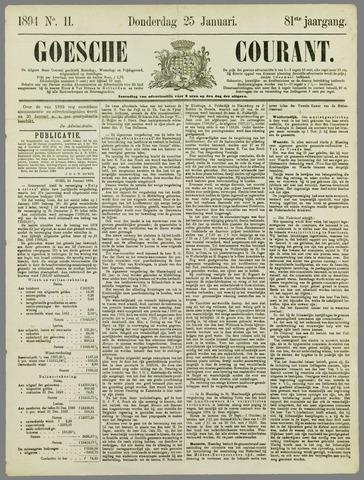 Goessche Courant 1894-01-25