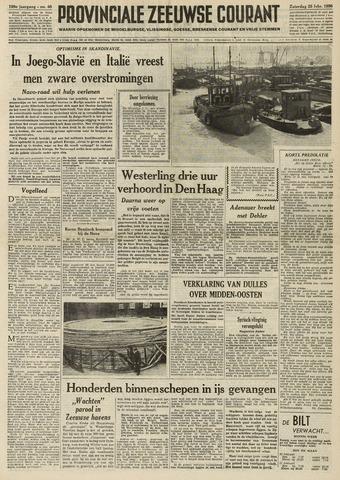 Provinciale Zeeuwse Courant 1956-02-25