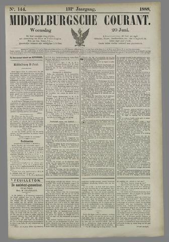 Middelburgsche Courant 1888-06-20