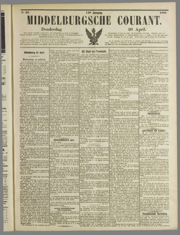 Middelburgsche Courant 1906-04-26