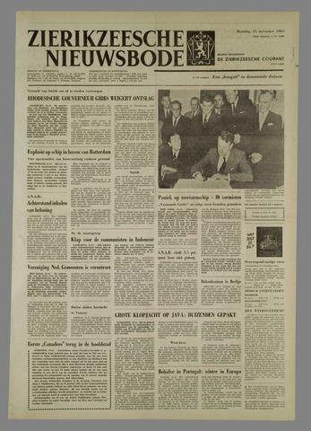 Zierikzeesche Nieuwsbode 1965-11-15