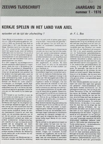 Zeeuws Tijdschrift 1976-01-01