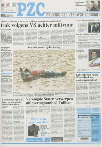 Provinciale Zeeuwse Courant 2001-10-15